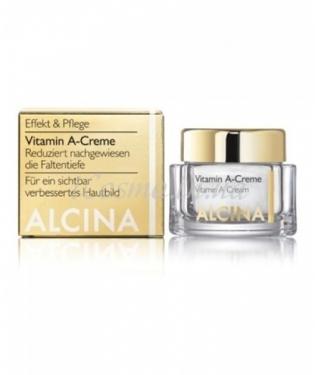 Крем с витамином А Alcina Vitamin A-Creme, 50 мл.