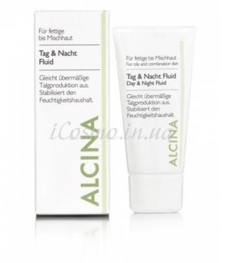Лосьон для дневного и ночного применения Alcina Tag & Nacht Fluid, 50 мл.
