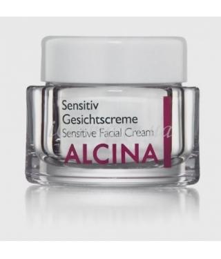 Крем для чувствительной кожи лица Alcina Sensitiv Gesichtscreme, 50 мл.