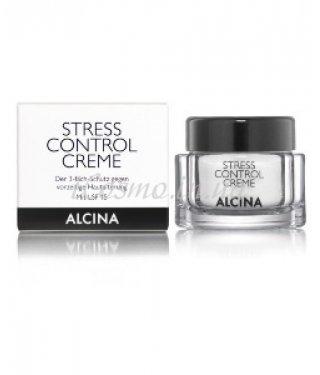 Крем для защиты кожи лица Stress Control Alcina Stress Control Creme, 50 мл.