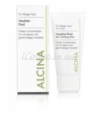 Очищающий лосьон для лица Alcina - Hautklar-Fluid, 50 мл.