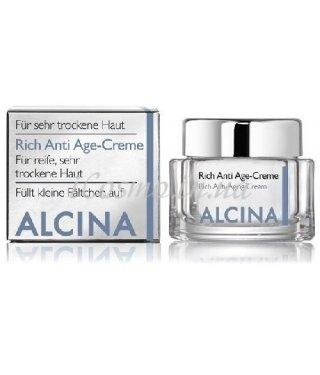 Питательный противовозрастной крем Rich Anti Age Alcina Rich Anti Age-Creme, 50 мл.
