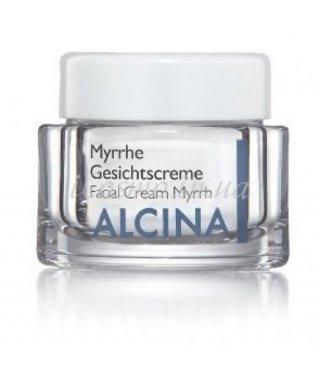 Крем ночной восстанавливающий «Мирра» для зрелой кожи Alcina - Skin Regenerierende Nachtcreme Myrrhe, 100 мл.