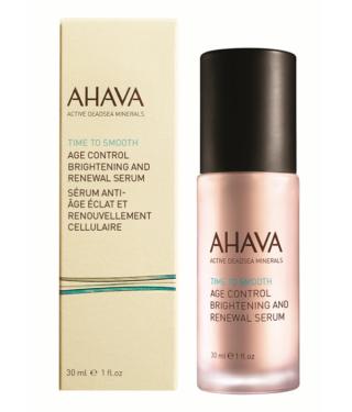 Ночная восстанавливающая сыворотка выравнивающая тон кожи AHAVA - Age control brightening and renewal serum, 30мл.