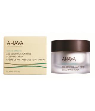 Ночной восстанавливающий крем выравнивающий тон кожи AHAVA - Age control Even tone sleeping cream, 50мл.