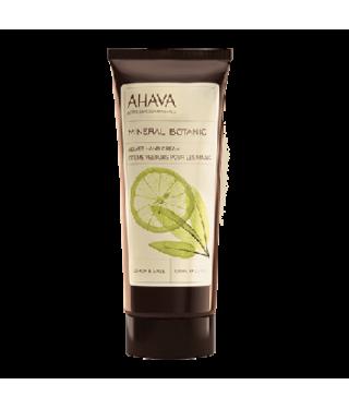 Бархатный крем для рук лимон/шалфей AHAVA - Mineral Botanic Hand Cream Lemon Sage, 100мл.