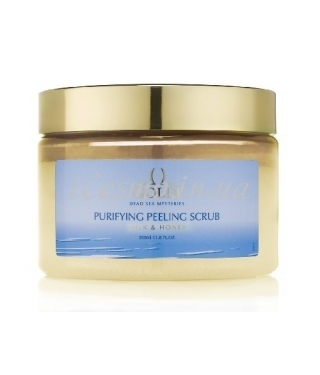 Скраб-пилинг для тела Молоко и Мед GOLDI Purifying Peeling Scrub Milk & Honey, 350 мл.