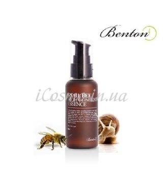 Эссенция улиточная с пчелиным ядом Benton Snail Bee High Content Essence, 60мл.