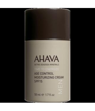 Крем омолаживающий увлажняющий SPF15 для мужчин AHAVA - Age Control Moisturizing Cream SPF15 Men, 50мл.