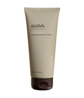 Мягкий крем для бритья без пены для мужщин AHAVA - Foam-Free Shaving Cream Men, 200мл.