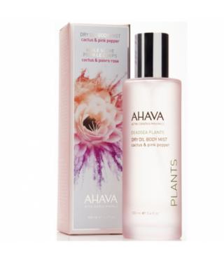 Сухое масло для тела Кактус и Розовый перец  AHAVA - Dry Oil Body Mist Cactus & Pink Pepper, 100мл.