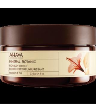 Масло для тела гибискус/инжир AHAVA - Body Butter Mineral Botanic Hibiscus, 235мл.