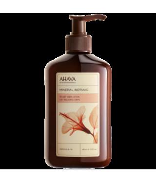 Нежное молочко для тела гибискус/инжир AHAVA - Mineral Botanic Body Lotion Hibiscus, 400мл.