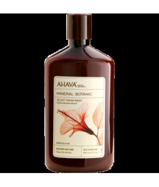 Мягкий крем для душа гибискус/инжир AHAVA - Mineral Botanic Cream Wash Hibiscus, 500мл.