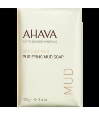 Мыло на основе грязи Мертвого моря AHAVA - Purifying Mud Soap, 100г.
