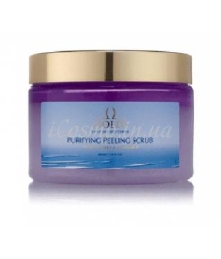 Скраб-пилинг для тела Пачули и Лаванда GOLDI Purifying Peeling Scrub Patchouli Lavender, 350 мл.