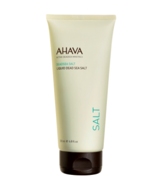 Соль Мертвого Моря жидкая AHAVA - Liquid Dead Sea Salt, 200мл.