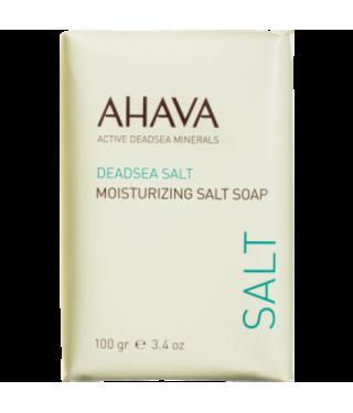 Мыло на основе соли Мертвого моря AHAVA - Moisturizing Salt Soap, 100г.