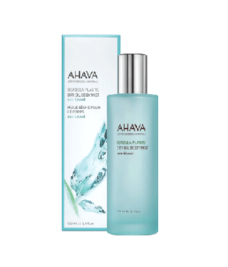 "Сухое масло для тела ""Поцелуй моря""  AHAVA - Dry Oil Body Mist Sea-kissed, 100мл."