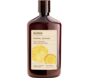 Мягкий крем для душа тропический ананас/белый персик AHAVA - Mineral Botanic Cream Wash Pineapple and White Peach, 500мл.