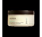 Масляно-солевой скраб для тела на основе соли Мертвого моря AHAVA - Softening Butter Salt Scrub, 235мл.